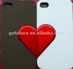 lover light up phone cover for iphone 4s