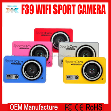 F39 WIFI Sports Action HD Action Camera 1080P 30FPS 720P 60FPS DVR Camcorder