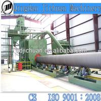 steel pipe shot blasting machine foundry machinery