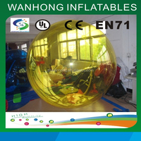 Fashionable inflatable water running ball in park, large inflatable water walking ball for sale, hot sale water ball