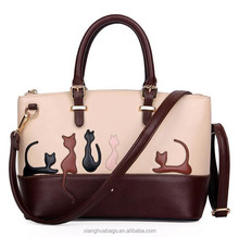 the newest ladies hand bags for women cat animal bags