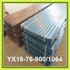 Corrugated coated PPGI colored metal roofing