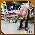 Agradable a CE de silicona niños dinosaurio del traje