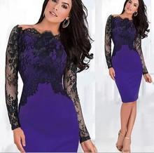 Z70329M 2015 wholesale elegant slim fit lace crotched latest office women's dress