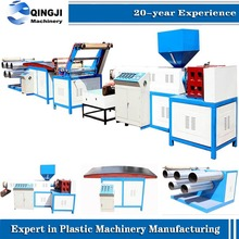 Single-screw Design and Plastic Processed Plastic Packing Rope Making Extruder