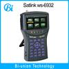 spectrum analyzer , mpeg-4 , HD WS-6932 satellite tv finder meter