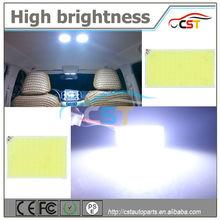 2014 New product 100% area COB lighting 9V 1.6W COB panel festoon lamp holders