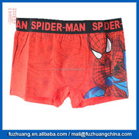 New Red Spiderman Fashion Men Boxer Brief Underwear 025