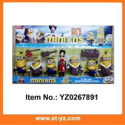 2015 Despicable Me 3 minion model minions figure toys minion plastic toy Despicable Me collectable figure