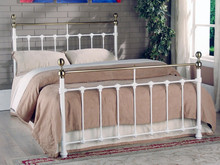 Modern furniture metal double bed designs