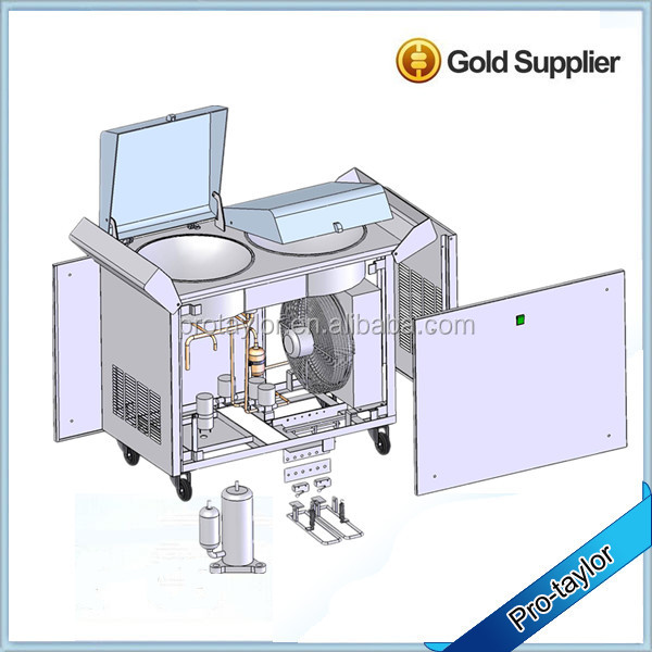 Pro taylor ice cream machine for making roll ice cream buy pro pro taylor ice cream machine cb980g ccuart Image collections