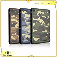 Manufacturer wholesale fashionable camouflage leather cases for iPad mini