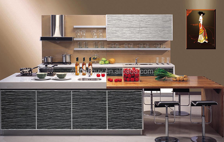 Home furniture new design modern kitchen cabinet for New style home furniture