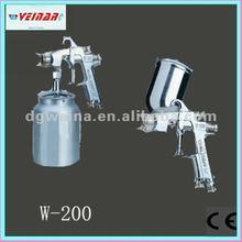 High atomization W-200 spray gun findings