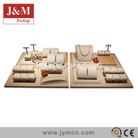 vintage jewelry display counter set in low price jewelry promotion showroom equipment
