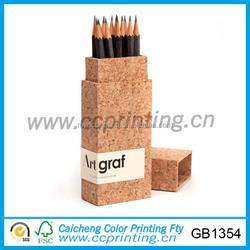Rectangular shaped packaging pencil box