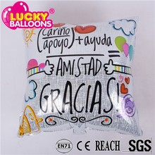 China best high quality custom Creative Converting Square foil balloon, mylar balloon for party decoration