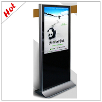 46inch Indoor Touch Screen Wifi/3G Ad Lcd Computador All In One