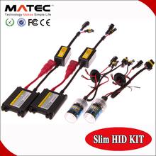 3000K 4300K 6000K 8000K 12000K 30000K High Illumination h1 h4 h7 h11 h13 35w ac/dc slim hid conversion kit