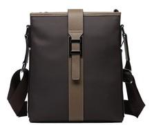 Classic casual brown cheap durable wholesale canvas messenger bags for men