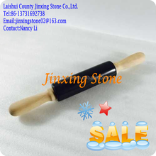 Black Marble Rolling Pin Dough and Pastry Baking New Design