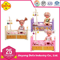 4 Inch Mini Plastic Beautiful Doll With Toy Accessory For Doll