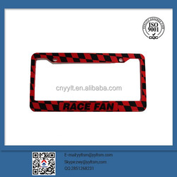 manufacture Auto hide car license number plate frame