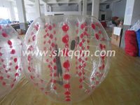 PVC body bumper ball Inflatable /inflatable zorb ball