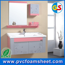 30mm thickness white PVC forex sheet / PVC foam board for bathroom kitchen cabinet