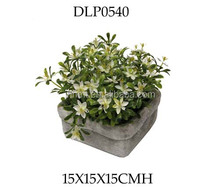 Small Artificial Flower Bush/Artificial Potted Flowers