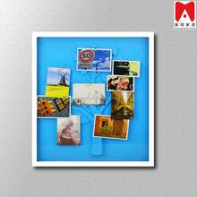 Hot sales PS photo frame with PVC palm tree