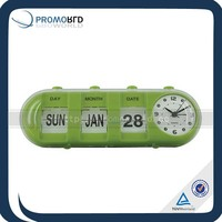 Desk Flip Clock With Calendar Funny Alarm Clocks Desk Calendar