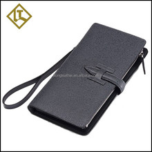 nice gift black handmade leather bag with card slot for sale