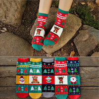 factory wholesale Winter snowman warm Christmas women tube socks