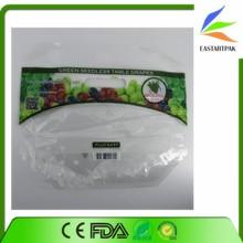 custom print slider ziplock perforated fresh grape packaging bag