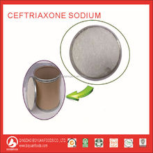 High quality cephalosporin antibiotic ceftriaxone sodium for injection 1g against Gram-positive and Gram-negative bacteria