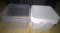 Drinking water Rectangular Plastic Barrel food grade