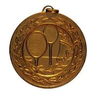 Metal Emboss Logo badminton medal
