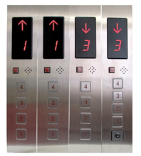 Top one hot sell cargo/Home elevator lift parts cop lop display push button panel