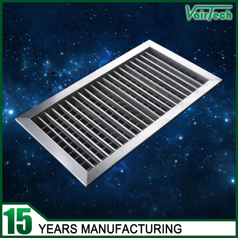 Adjustable louver decorative wall vents stainless steel for Decorative louvers