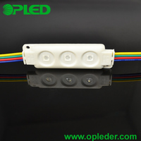 High brightness 3 5050 RGB Injection led light