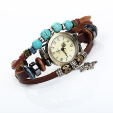 High qualit Fancy leather lady wrist watch