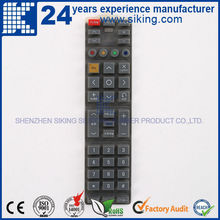 Silicone Keypad Button Material and Calculator Application silicone rubber keypad for remote