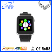 2015 New Touch Screen Bluetooth Cell Phone Waterproof Smart Watch