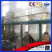 high quality crude sunflower, soybean, cottonseed, walnut oil refinery machine, oil refiing plant from Dingsheng
