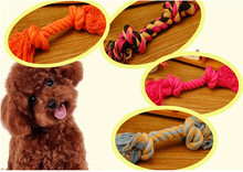 2014 new product dog toy dog chewing toy cotton rope
