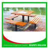 2015 Attractive Design Park Bench Chinese Manufacturer Large Wood Bench Used Wooden Bench