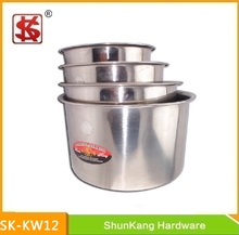 12-20cm Stainless Steel Seasoning Pot without Lids/ Kitchen Ware Products