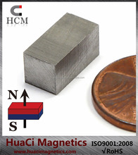 "Top Quality AlNiCo 5 Magnet Block 1/2""x1/4""x1/4"" Up to 1,022 Degree Fahrenheit"