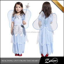 Latest Dress Designs Kids Character Clothing Wholesale Flower Girl Dress Butterfly Costumes
